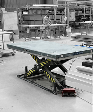 Static-Scissor-Lift-Table